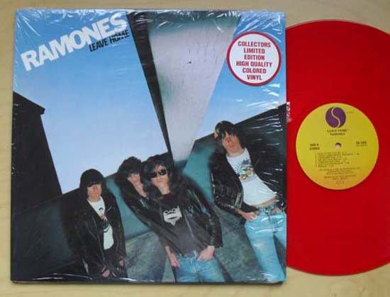 RAMONES - Leave Home (red)