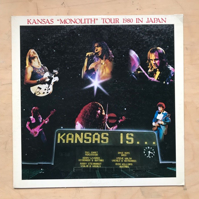 KANSAS - MONOLITH - TOUR 1980 IN JAPAN