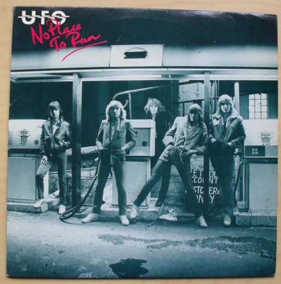 UFO - No Place To Run (red Print)