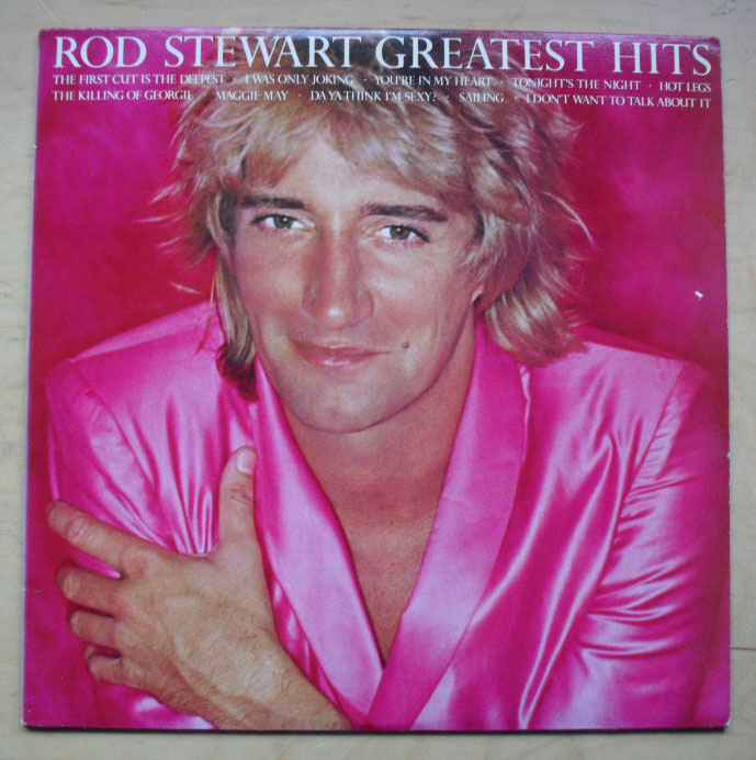ROD STEWART - Greatest Hits (blue)