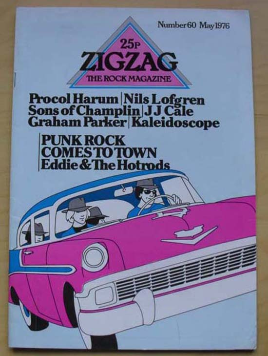 EDDIE & THE HOT RODS - ZIG ZAG NO.60
