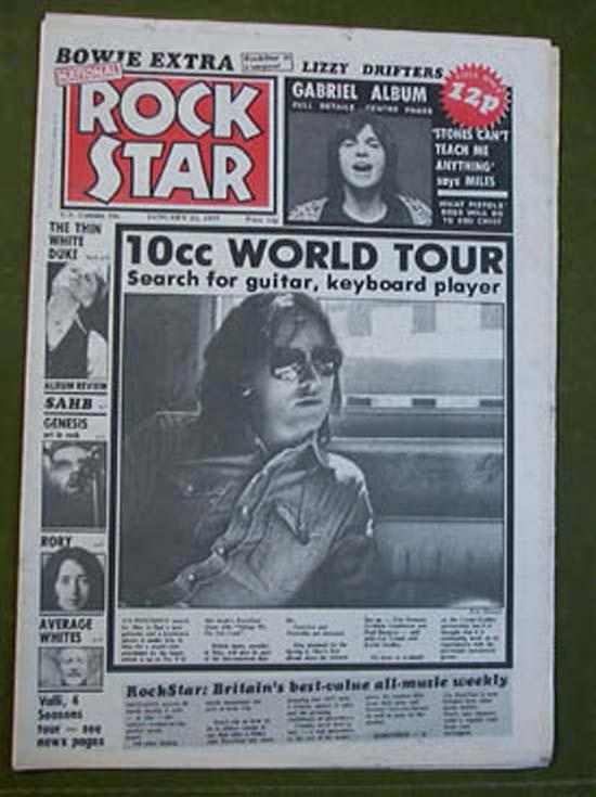 10CC - ROCK STAR