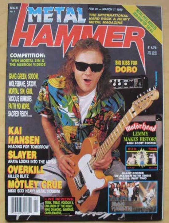KAI HANSEN - METAL HAMMER