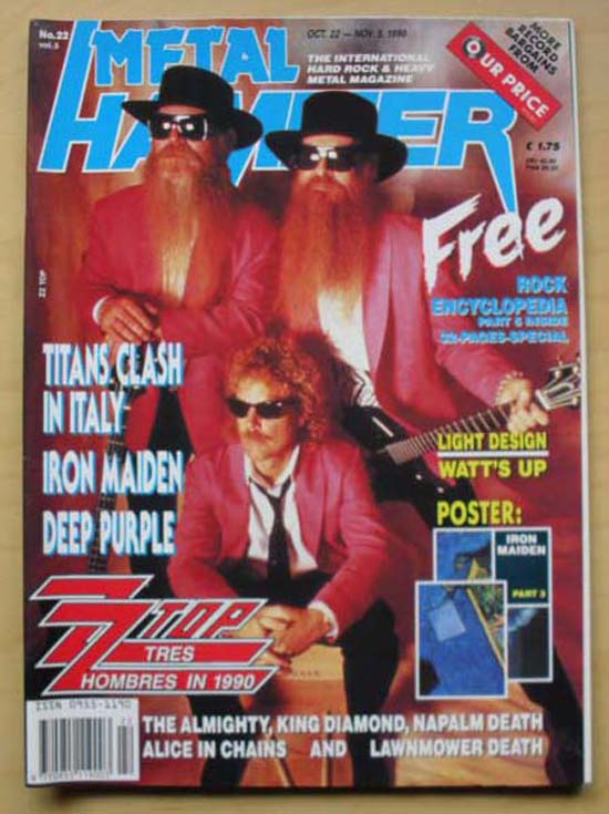 ZZ TOP - METAL HAMMER