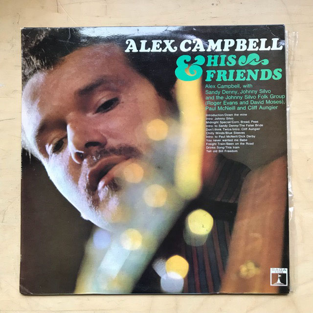 ALEX CAMPBELL - & HIS FRIENDS - 33T