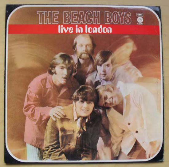 BEACH BOYS - Live In London EP