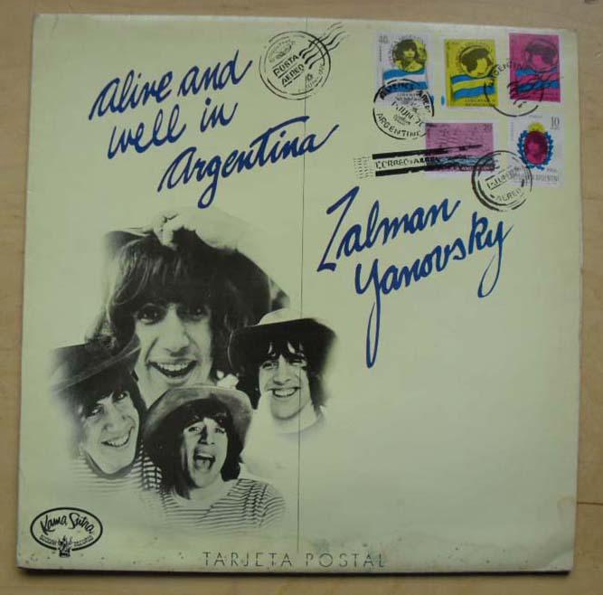 ZALMAN YANOVSKI - ALIVE AND WELL IN ARGENTINA