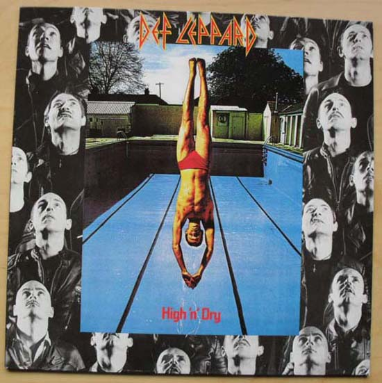 DEF LEPPARD - High N Dry Album