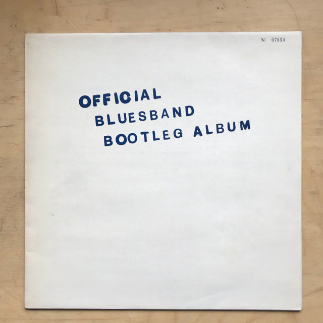 BLUES BAND - Official Blues Band Bootleg Album Record
