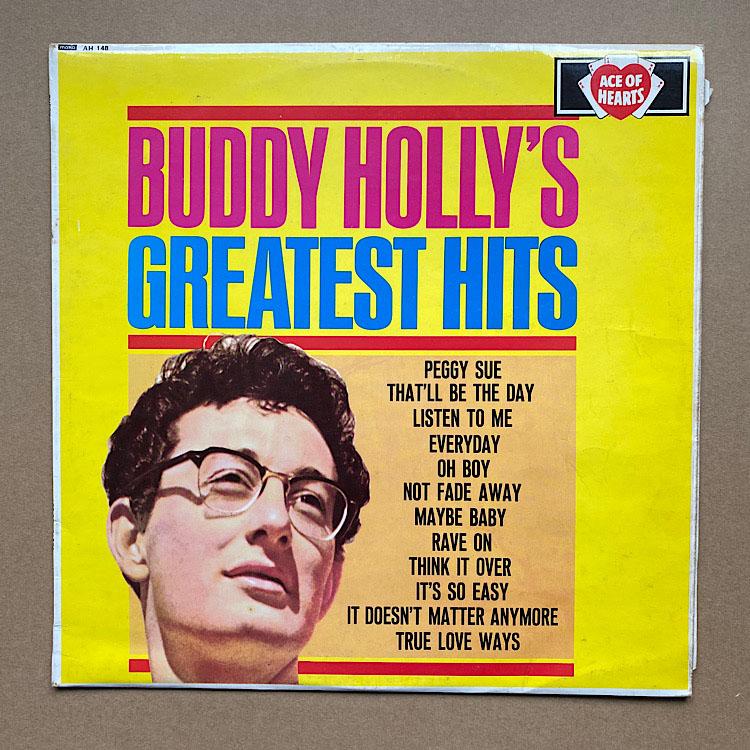 BUDDY HOLLY - Greatest Hits Vinyl