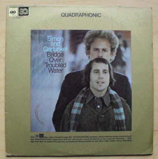 SIMON & GARFUNKEL - Bridge Over Troubled Water(quad)