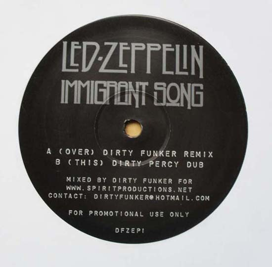 LED ZEPPELIN - Immigrant Song Album