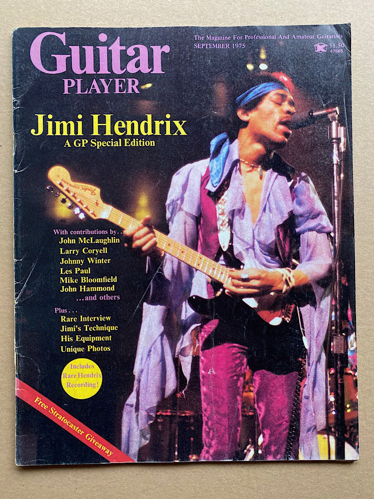 JIMI HENDRIX - Guitar Player Album