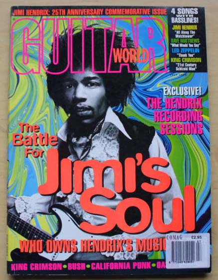Guitar World - JIMI HENDRIX