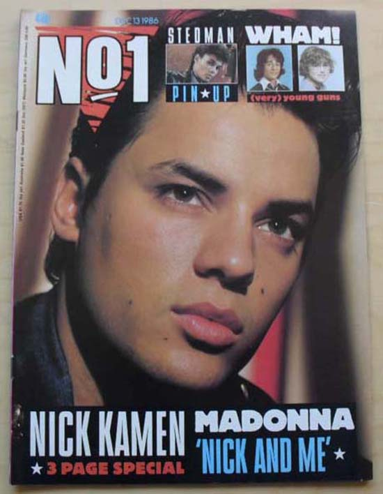 Nick kamen tell me cd single