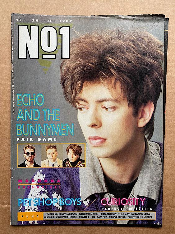 ECHO & THE BUNNYMEN - NO.1