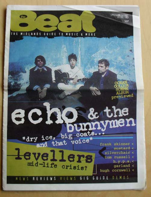 ECHO AND THE BUNNYMEN - BEAT #193 - Magazine