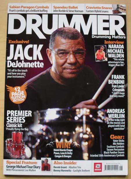 JACK DEJONETTE - DRUMMER #80