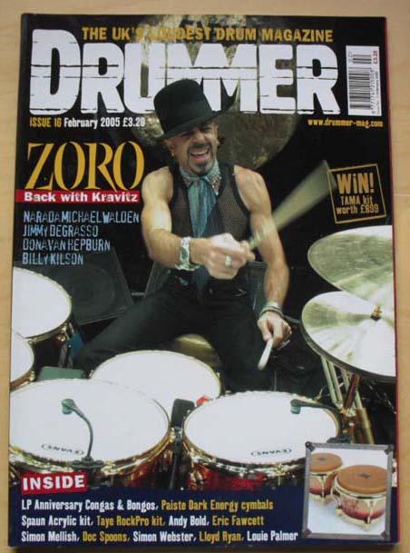 ZORO - DRUMMER #16
