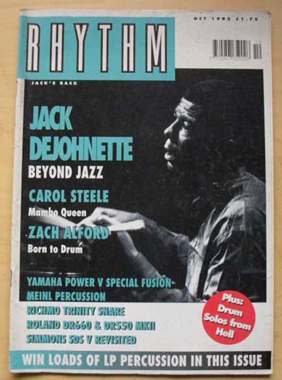 JACK DEJONETTE - RHYTHM