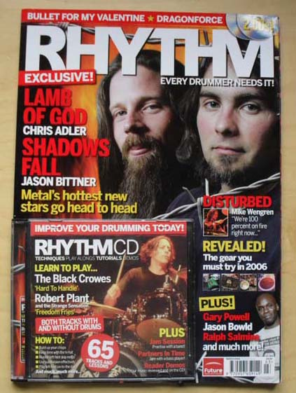 LAMB OF GOD/SHADOWS FALL - RHYTHM #122