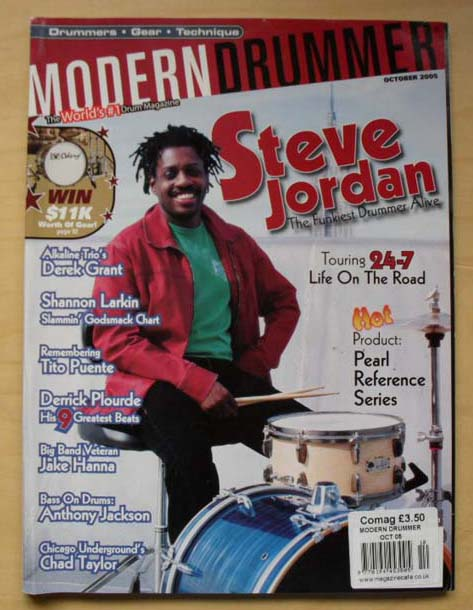 12 - NM Modern Drummer Magazines with Tommy Igoe/George McCurdy! FREE Shipping!