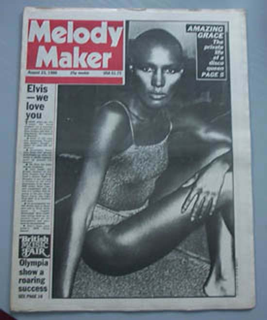 GRACE JONES - MELODY MAKER - Magazine