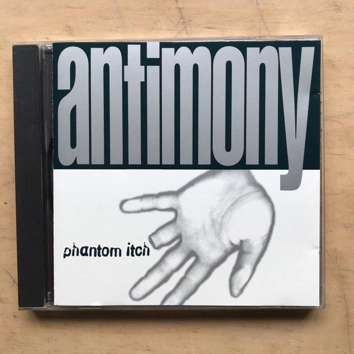Album Phantom itch de Antimony sur CDandLP