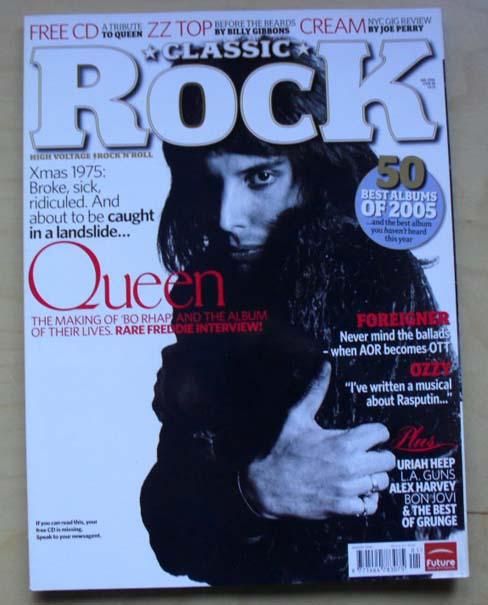 QUEEN - CLASSIC ROCK #88