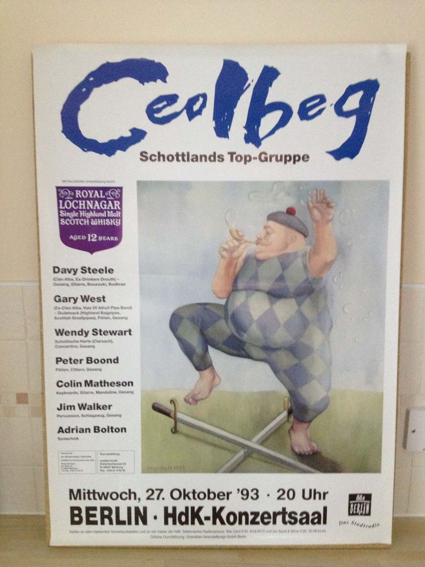 CEOLBEG - BERLIN - Poster / Affiche