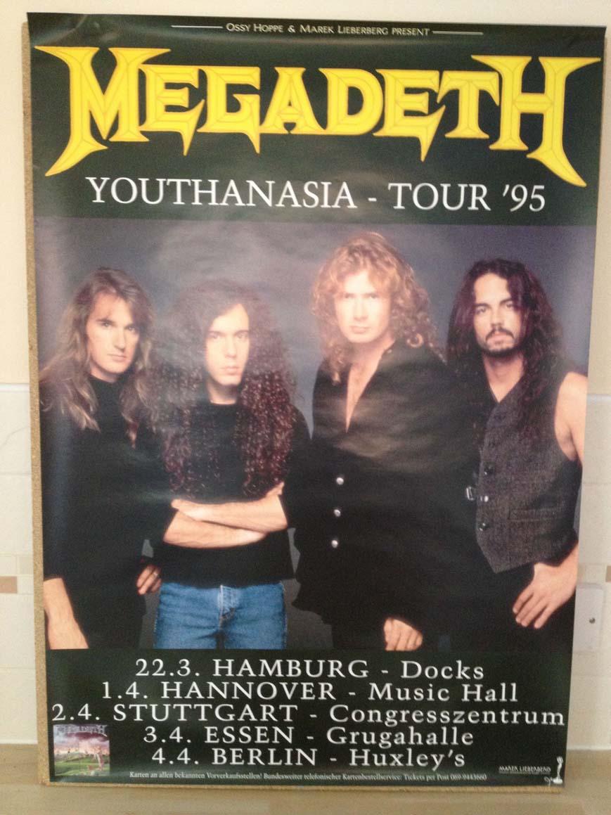 MEGADETH - Youthanasia Tour '95