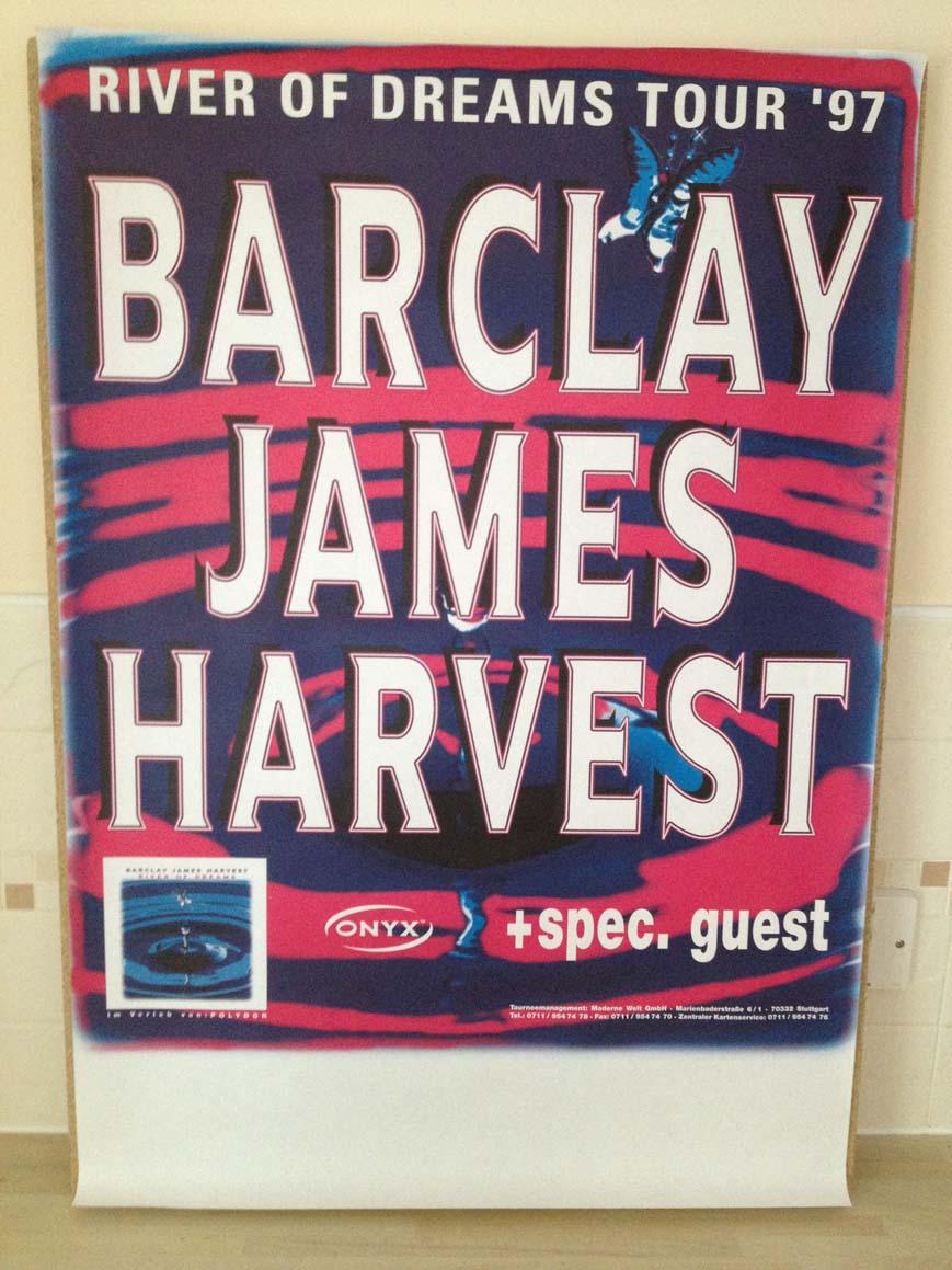 BARCLAY JAMES HARVEST RIVER OF DREAMS TOUR 1997