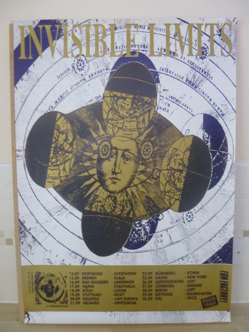 INVISIBLE LIMITS - A CONCIOUS STATE TOUR - Poster / Display