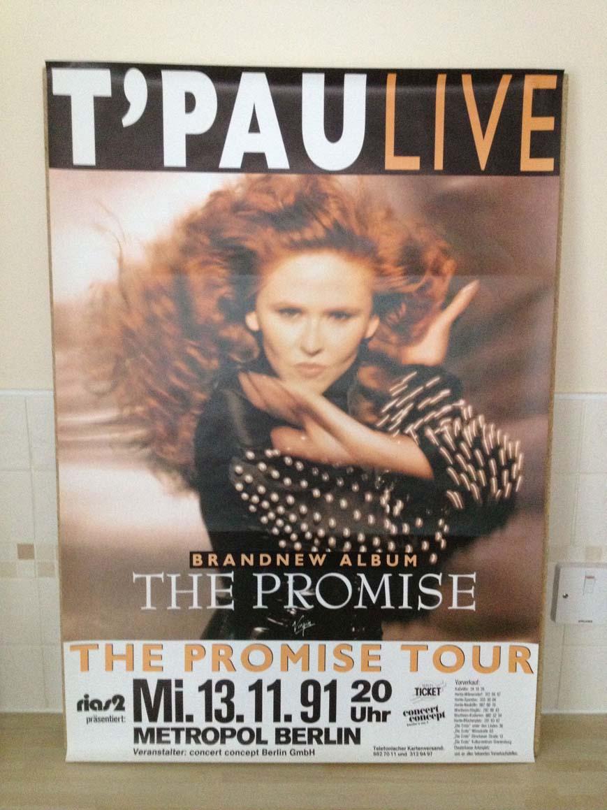 T'PAU - THE PROMISE TOUR