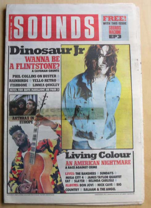 DINOSAUR JR - SOUNDS - Magazine