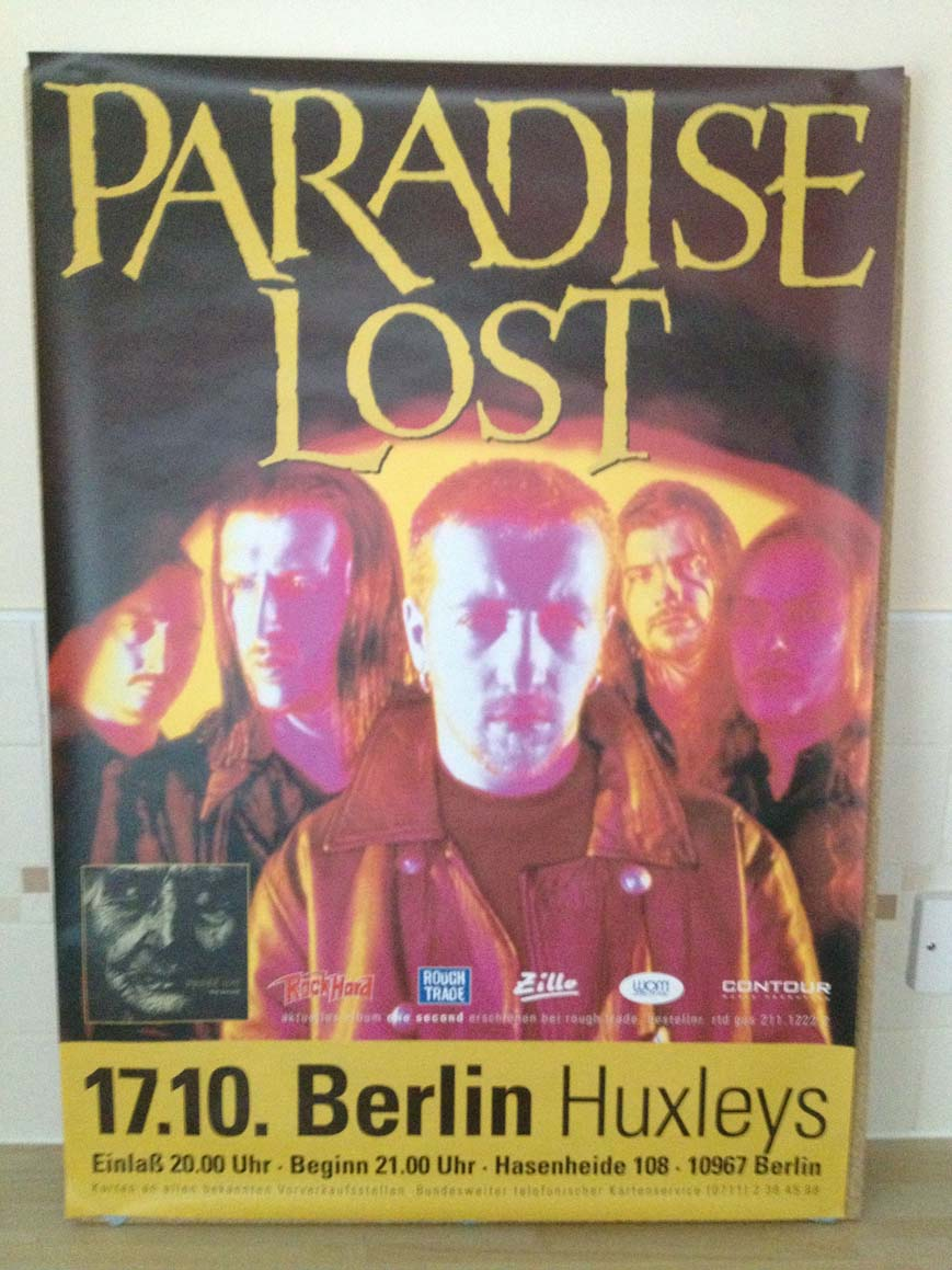 PARADISE LOST - ONE SECOND TOUR