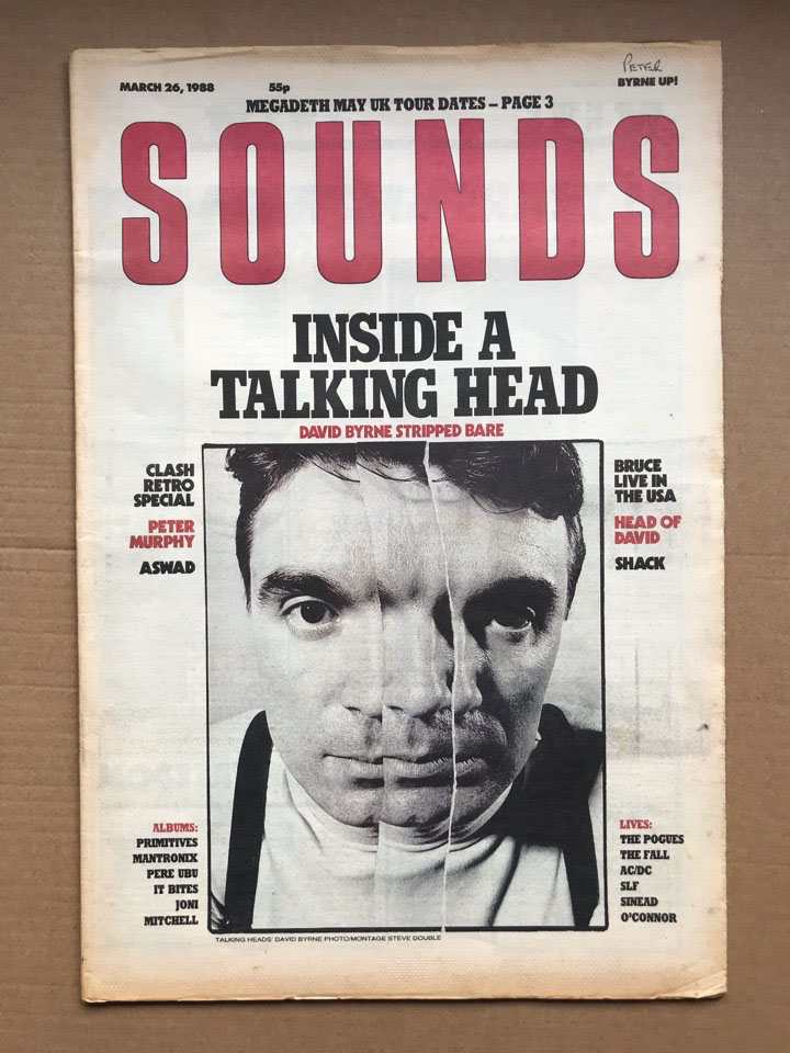 TALKING HEADS SOUNDS