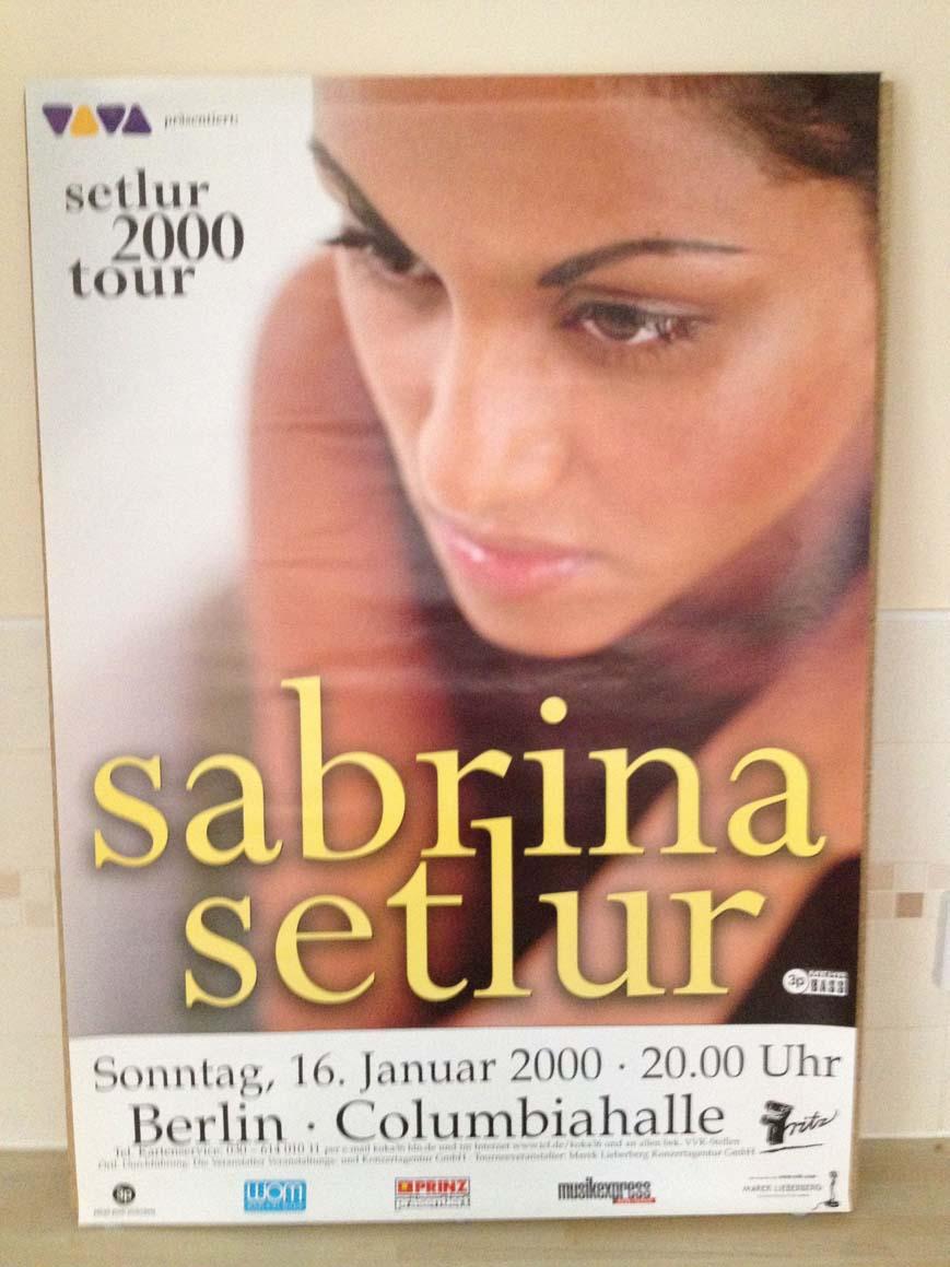 SABRINA SETLUR - SETLUR 2000 TOUR