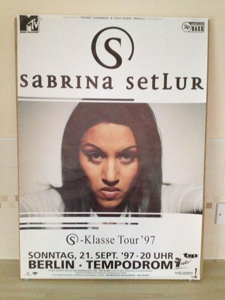 SABRINA SETLUR - KLASSE TOUR