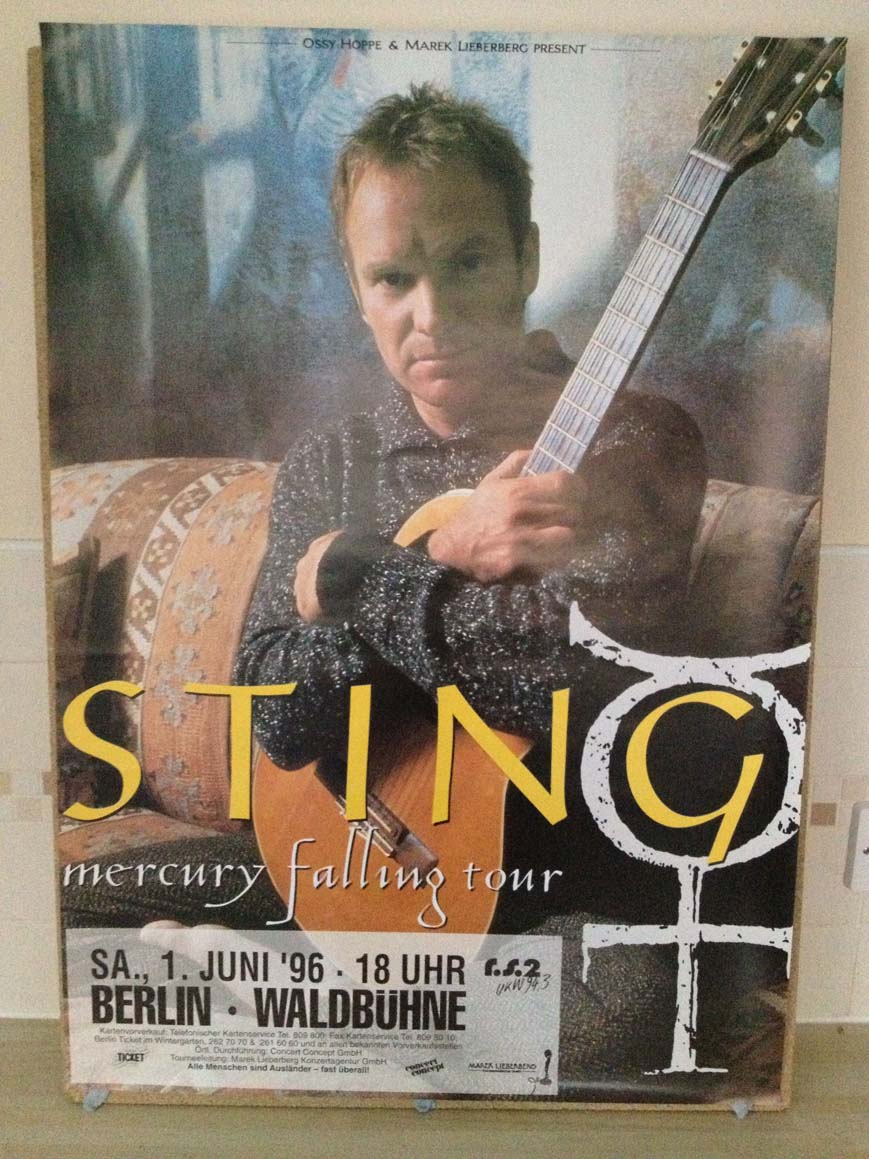 STING - Mercury Falling Tour 1996