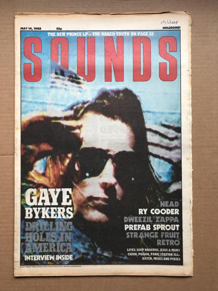GAYE BYKERS ON ACID SOUNDS