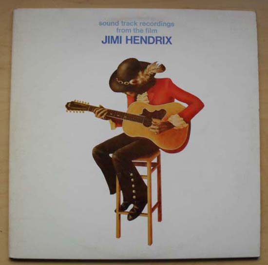 JIMI HENDRIX - Soundtrack From The Film Jimi Hendrix
