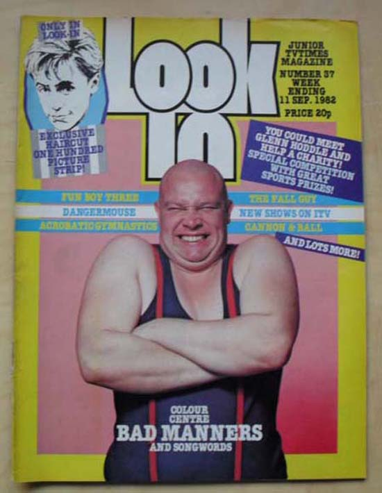 BAD MANNERS - LOOK IN