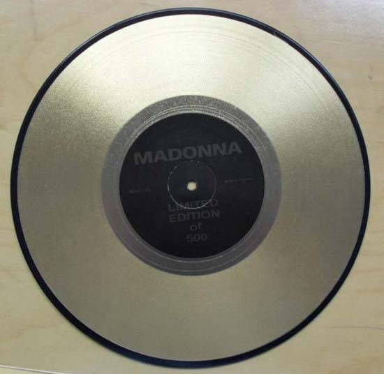 MADONNA - INTERVIEW (GOLD)