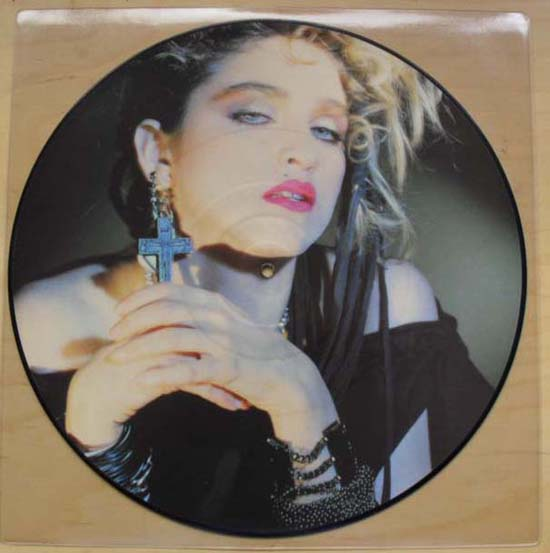 MADONNA - HOLIDAY (1ST ISSUE)
