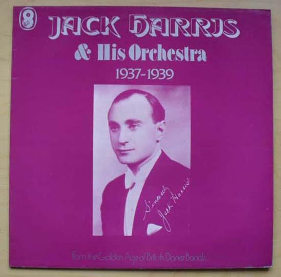 JACK HARRIS - 1937 - 1939