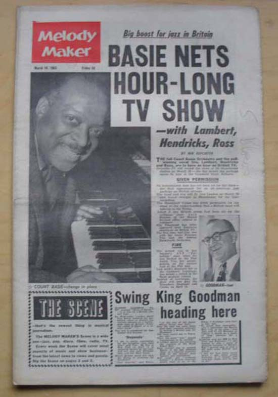 COUNT BASIE - MELODY MAKER - Magazine