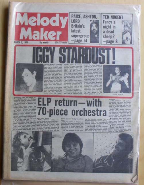 Melody Maker Poll Concert 1972