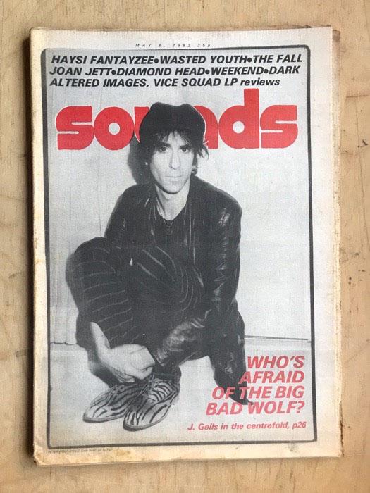J GEILS BAND - SOUNDS