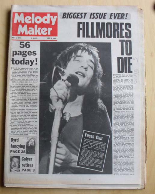 FACES - MELODY MAKER